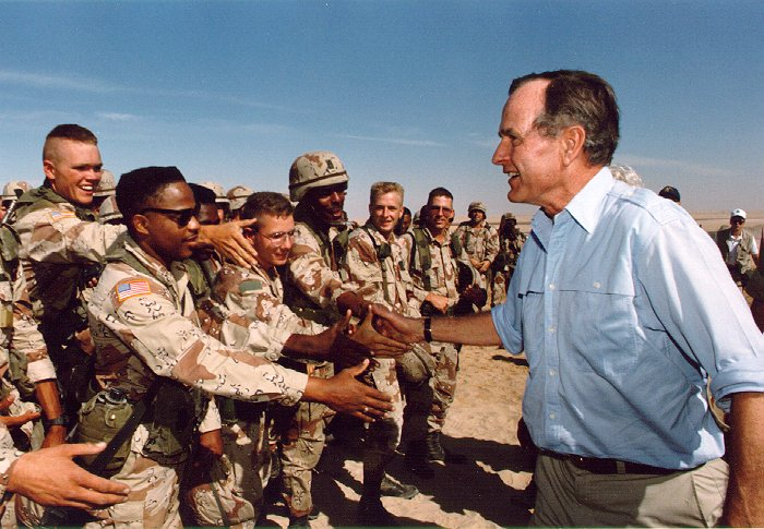 Lines in the Sand: George H.W. Bush and Creating the Coalition